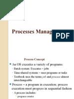 OS Process Managment