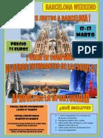 Viaje a Barcelona 12 - 13 de marzo