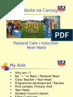 induction 2016 - noel ward