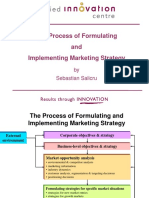 Formulating Marketing Strategy