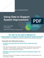 Workshop for Commissioners - 21 January 2016 - Using Data to Support System Improvement