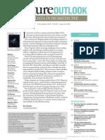 Nature Outlook- Big Data in Biomedicine