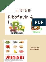 Vitamin B² & B³