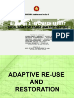 Adaptive Re-Use and Restoration
