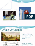 What is Cricket, An Explanation of the Game
