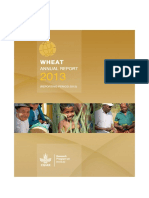 Annual Progress Report 2012 CGIAR Research Program on Wheat (WHEAT)