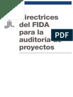 directrices fida para auditoria de proyectos s