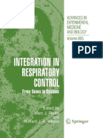 Integration in Respiratory Control From Genes to Systems (Advances in Experimental Medicine and Biology)