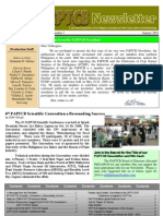PAPTCB Newsletter Vol 1 No 1