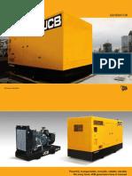 JCB Generator Brochure