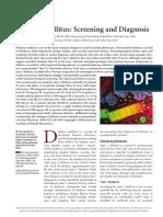 DM Screening and Diagnosis