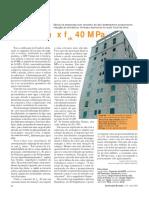 Orçamento Real - Concretofck 30 Mpa x Fck 40 Mpa