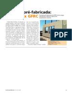 ORÇAMENTO REAL - Fachada Pré-fabricada Concreto x GFRC