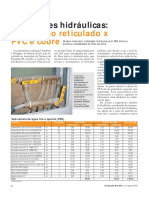 ORÇAMENTO REAL - Instalações Hidráulicas Polietileno Reticulado x PVC e Cobre