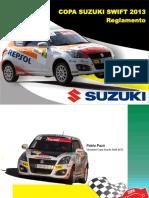 Reglamento 2013 Suzuki