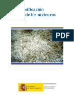 Meteoros-CLASIFICACION