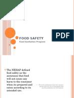Food Sanitation Program
