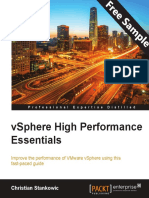 vSphere High Performance Essentials - Sample Chapter