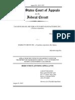 Huang v. Marklyn - Appellant Brief