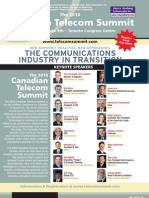 2010 Canadian Telecom Summit Brochure - Print Version