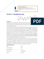 Sorafenib (BAY-43-9006)From supplier DC Chemicals