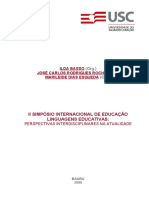 Sie 2008 Letr Arti a Relacao Do Texto Leitor No Ato Da Leitura