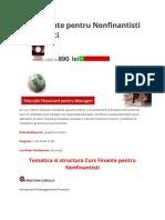 Curs Finante Pentru Nonfinantisti