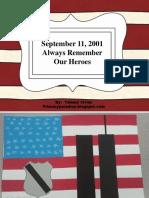 september 11thcraftivity
