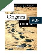 Richard Leakey - Originea Omului (v1.0)