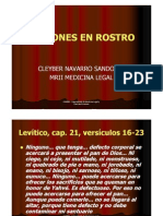 DESFIGURACION DE ROSTRO