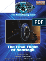Babylon 5 RPG (2nd Ed.)-The Final Flight of Santiago