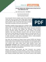 Komitmen Indonesia Dalam Pembiayaan Pembangunan Infrastruktur Yang Berkelanjutan