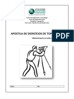 Apostila de Exercicios de Topografia Prof Fabrizio
