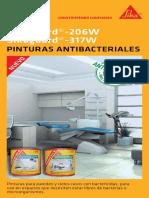 Pinturas Antibacteriales
