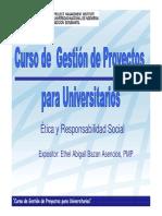 Etica y Responsabilidad Profesional
