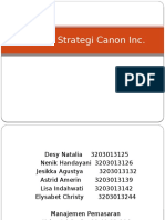 Analisis Strategi Canon Inc