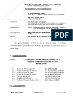 Informe Supervision de La Trocha Carrozable Final