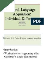 Second Language Acquisition PowerPoints (1)