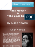 alden nowlan and glass roses