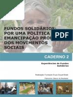 Caderno 2 Fundos Solidários Experiências de Fundos Soldários