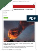 Las Otras Fotografías Del Hombre Que Atrapó _La Mano de Dios_ en Portugal - BBC Mundo
