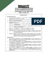 2533328 IIT JEE 2008 Paper II Solutions by Brilliant Tutorials