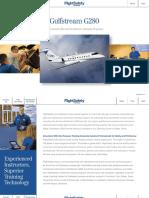 FlightSafety Gulfstream G280