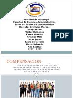 Tablas de Compensacion Ventas DIAPO