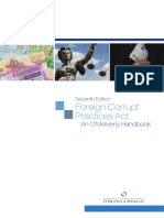 O'Melveny's 7th Edition FCPA Handbook - Published June 2013