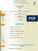 Grupo #2 Estructura de Plan Territorial de Ventas