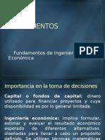 Ing Economica caracteristicas