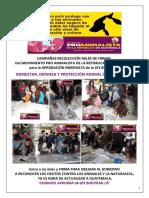 Campañas MPAGT Para Aprobación Ley BIDEPRAG. Lun 01 Feb 2016.