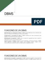 Unidad 1 DBMS