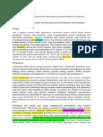 Translate Jurnal Optimization of Antioxidant Potential of Penicillium Granulatum Bainier by Statistical Approaches